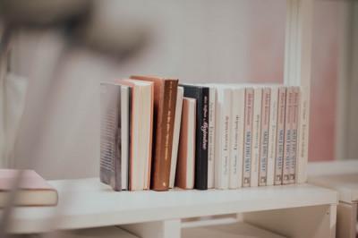 Sommige boeken kregen een nieuwe plaats